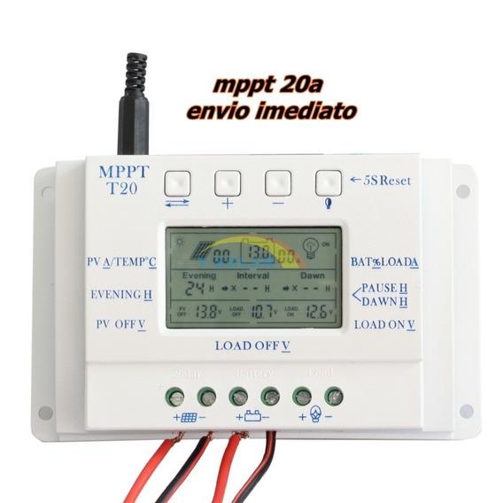 Kit 2 Controlador Mppt T20 Energia Solar