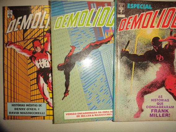 Demolidor Especial 1 2 3 Editora Abrl 1988 Otimos