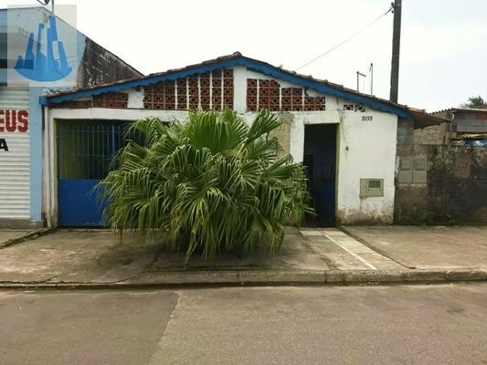 3210-casa Isolada Lote Inteiro Em Mongaguá!