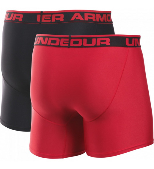 Boxers Under Armour Original Series 2 Pack Hombre 6 Pulgadas