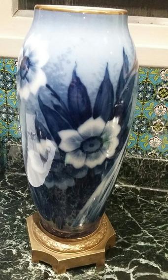 Florero De Porcelana Limoges M.fere