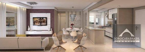 Apartamento Com 3 Dormitórios À Venda, 93 M² Por R$ 510.000,00 - Residencial Montpellier - Sorocaba/sp - Ap0127