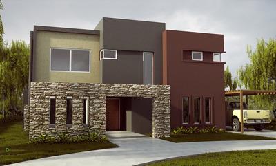 Excelente Casa A Construir En Puertos Barrio Araucarias