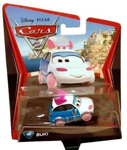Disney Cars 2 #44 Suki Case N 1:55 Mattel
