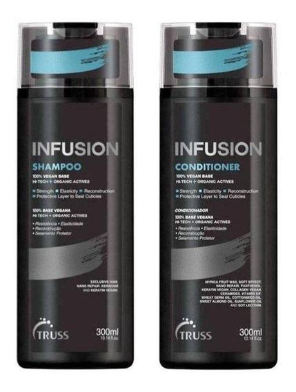 Kit Shampoo + Condicionador Truss Infusion 300ml