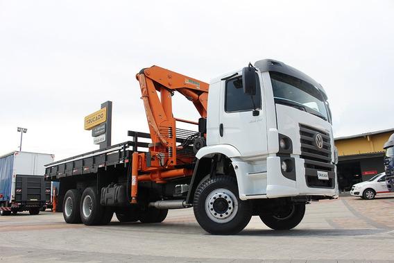 Caminhão Vw 31280 6x4 Munck Argos 43 = Hyva Nhg Luna