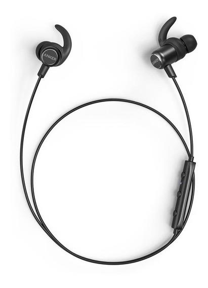 Fone Ouvido Bluetooth Anker Slim Soundbuds Sport Sweatproof