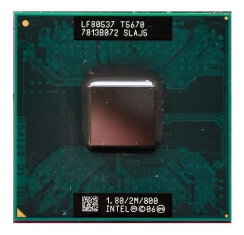 Processador Notebook Intel Core 2 Duo 1.8/2m/800 T5670