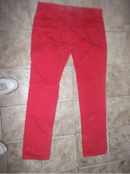 Pantalon Hombre Gola Heritage Rojo