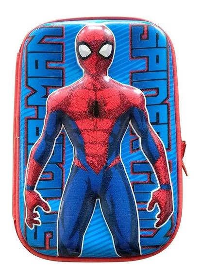 Cartuchera Spiderman 1 Cierre Goma Eva Ha107 Original