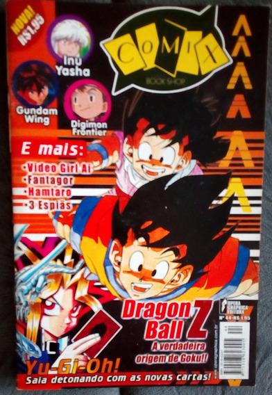 Revista Comix Nº 44 Dragon Ball Z Yu-gi-oh Digimon Inuyasha