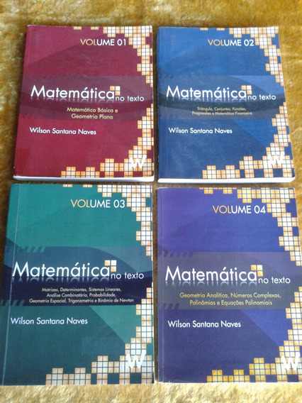 Matemática No Texto