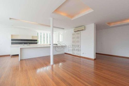Apartamento Com 3 Dormitórios À Venda, 140 M² Por R$ 3.640.000,00 - Leblon - Rio De Janeiro/rj - Ap7344