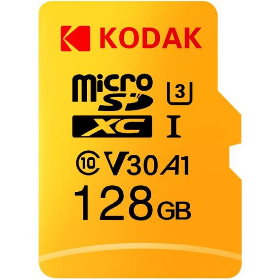 Kodak Alto Velocidade U3 A1 V30 Tf / Micro Sd Cartão Memór
