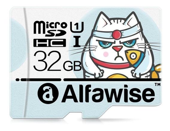 Cartão De Memória 32gb Alfawise Classe 10 Memory Card - Novo