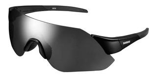 Óculos Shimano Aerolite Preto E Cinza Com Duas Lentes