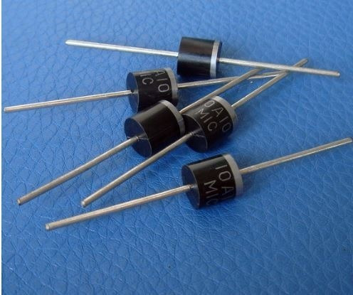 20 Diodo Retificador 10a10 R-6 10a 1000v