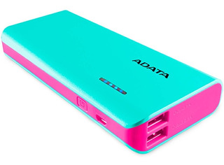 Power Bank 10000mah Adata Cargador Bateria Portatil Celular Led