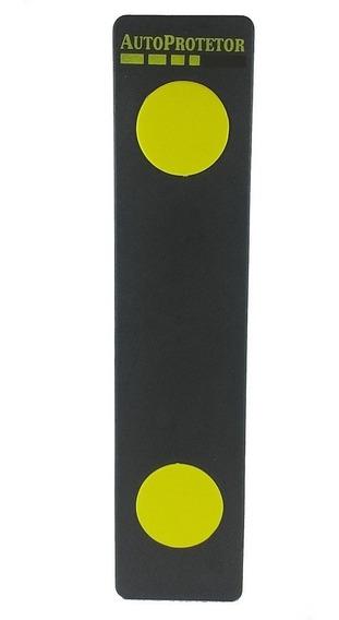 Protetor De Parachoque 4cm - Garagem- Estacionamento - Preto