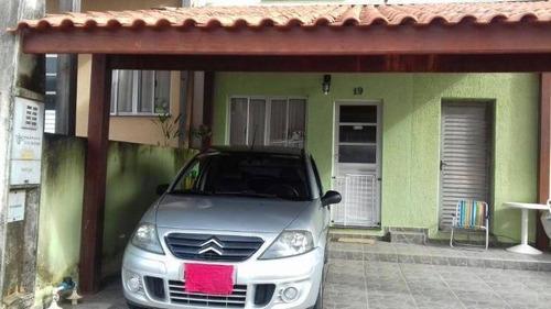 Casa Com 2 Dormitórios À Venda, 75 M² Por R$ 180.000,00 - Jardim Maria Amélia - Jacareí/sp - Ca0440