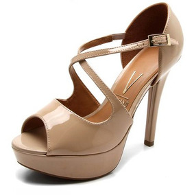 64f089dc0b Sandalia Tira Cruzada Vizzano Meia Pata Numero 35 - Sapatos no ...