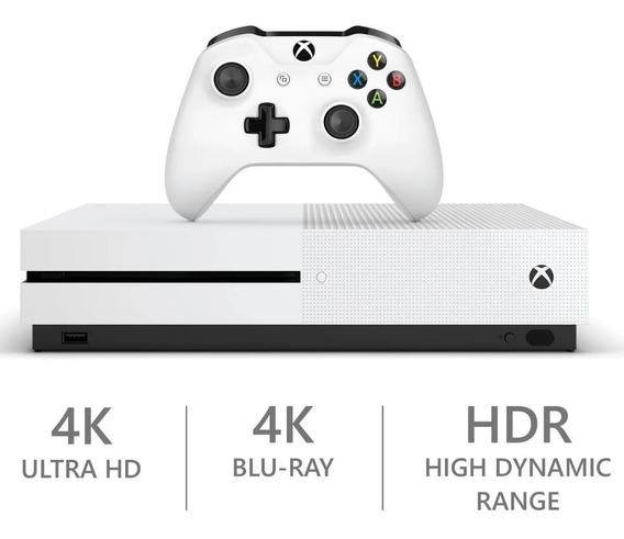 Microsoft Xbox One S 500gb Branco