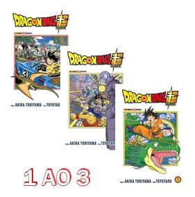 Dragon Ball Super 1 Ao 3! Mangá Panini! Novo E Lacrado