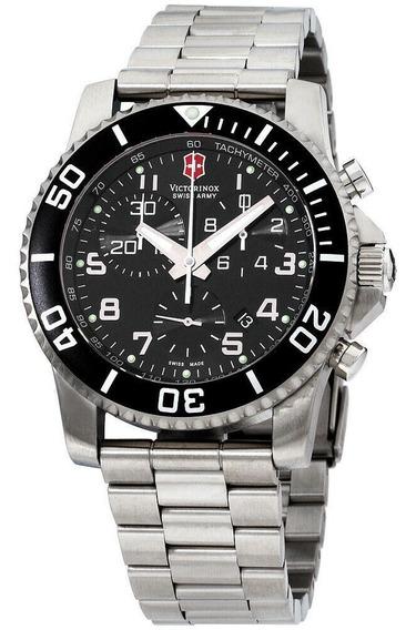 Relógio Masculino Victorinox 241441 Aço Inoxidável