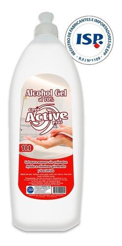 Alcohol Gel 70% C/aloe Vera Isp 1.0 Lt | Steelpro