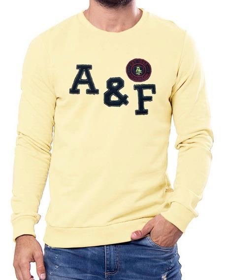 Buzo Algodon Premium Abercrombie De Hombre #bf7