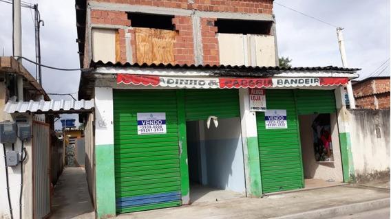 Ponto Em Saracuruna, Duque De Caxias/rj De 60m² 1 Quartos À Venda Por R$ 100.000,00 - Pt283804