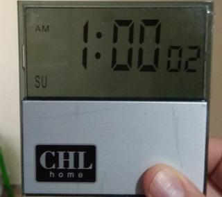 Reloj Digital Transparente X 2