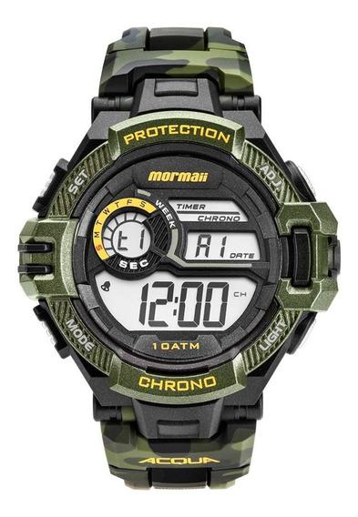 Relógio Mormaii Acqua Masculino Camuflado Mo1134/8v