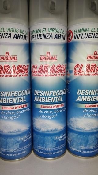 Spray Desinfectante Ambiental Clarasol