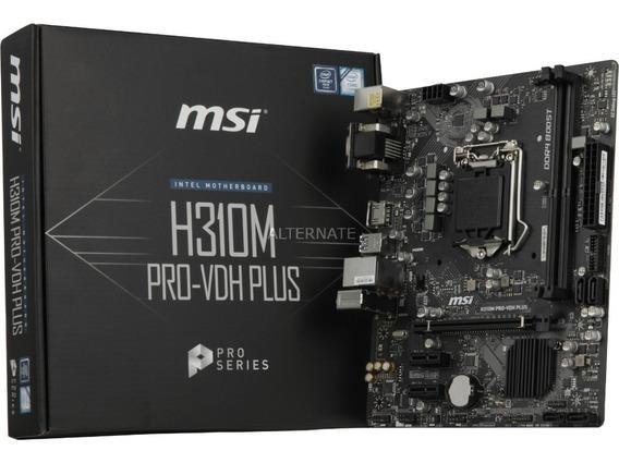 Placa-mãe Msi H310m Pro-vdh Plus Lga 1151 (soquete H4)
