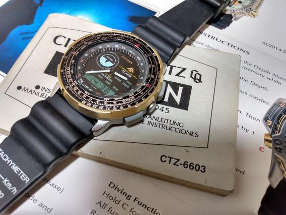 Citizen 8945 Wingman - Serie Ouro (muito Novo)