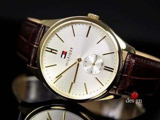 Reloj Tommy Hilfinger 1791170 ,cuero Y Acero, Nuevo... !!