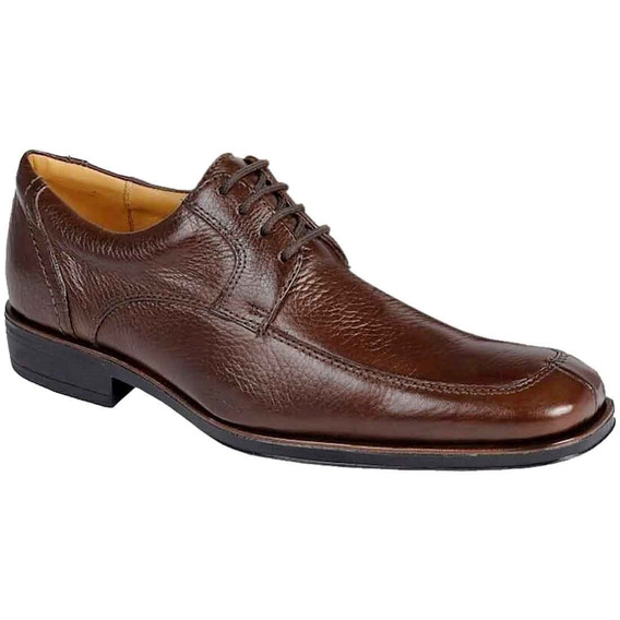 Sapato Social Masculino Derby Sandro Moscoloni Albany Marrom