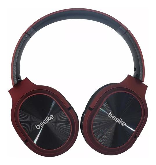 Fone Bluetooth Basike Fon0017 Microfone Micro Sd + Nfe
