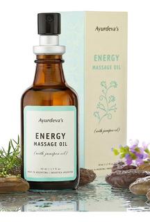 Aceite Para Masajes Ayurdeva´s Energy Con Esencial De Enebro