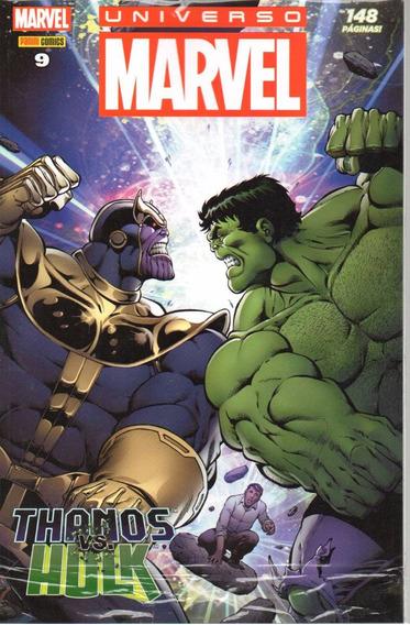 Universo Marvel 9 4ª Serie - Panini 09 - Bonellihq Cx404 H18