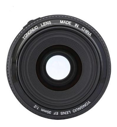 Lente Yongnuo Yn 35mm F2 70d T6i 7d 5d T5 T6i T7i