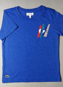T-shirt Lacoste Para Niño . Talla 4 . Original