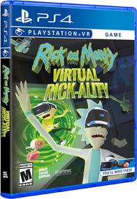 Jogo Mídia Física Rick And Morty: Virtual Rick-ality Vr Ps4