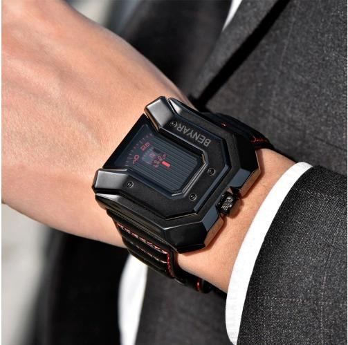 Relógio Benyar Relógio Marca De Luxo A Prova De, Agua