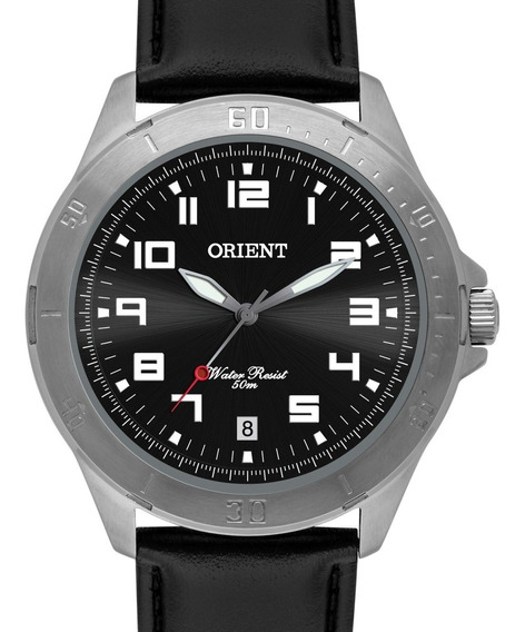 Relógio Orient Masculino Couro - Mbsc1032 G2px