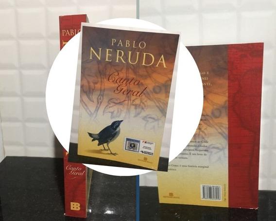 Livro Canto Geral - Pablo Neruda