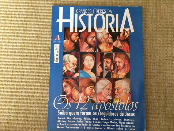 Revista Grandes Líderes Da História 8 Seguidores Jesus L886