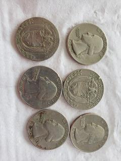 Colección De Monedas Quarter 1965-1966-1967-1968-1969-1970