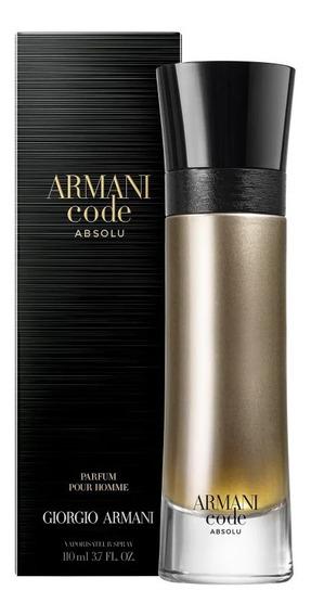 Giorgio Armani Code Absolu Edp 110ml + Brinde - 100% Original
